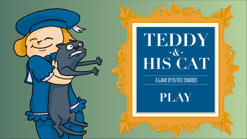 Teddy and his Cat - A Game by Ruthie Edwards made for Ludum Dare 29