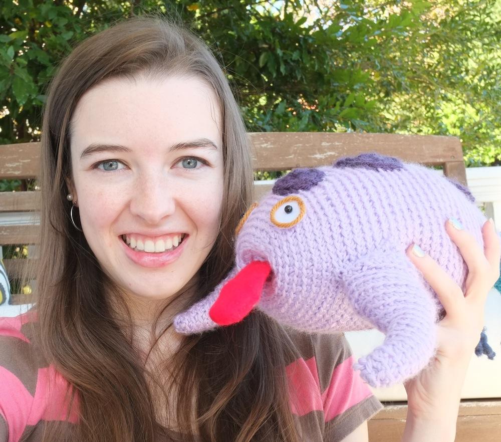 Ruthie Edwards Crochet Whale Creature