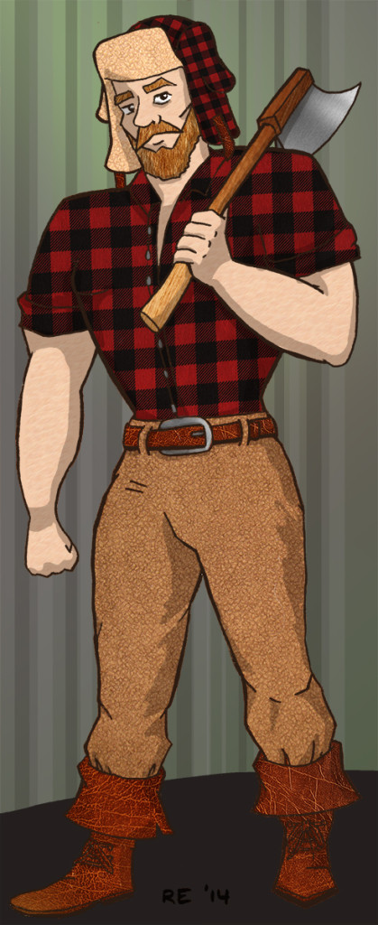 Lumberjack by Ruth E.
