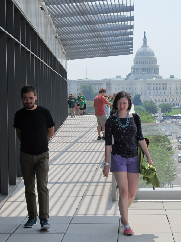Ruthie and Ian in Washington, DC