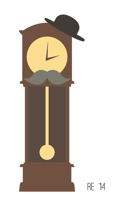 Grandfatherclock Newgrounds Clock Crew