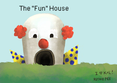Kingdom Of Loathing The Fun House by Ruthie Edwards