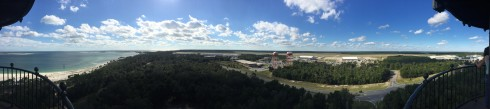 View from the Pensacola Lighthouse