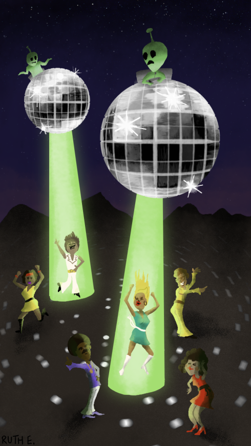 Unidentified Flying Disco by Ruthie Edwards