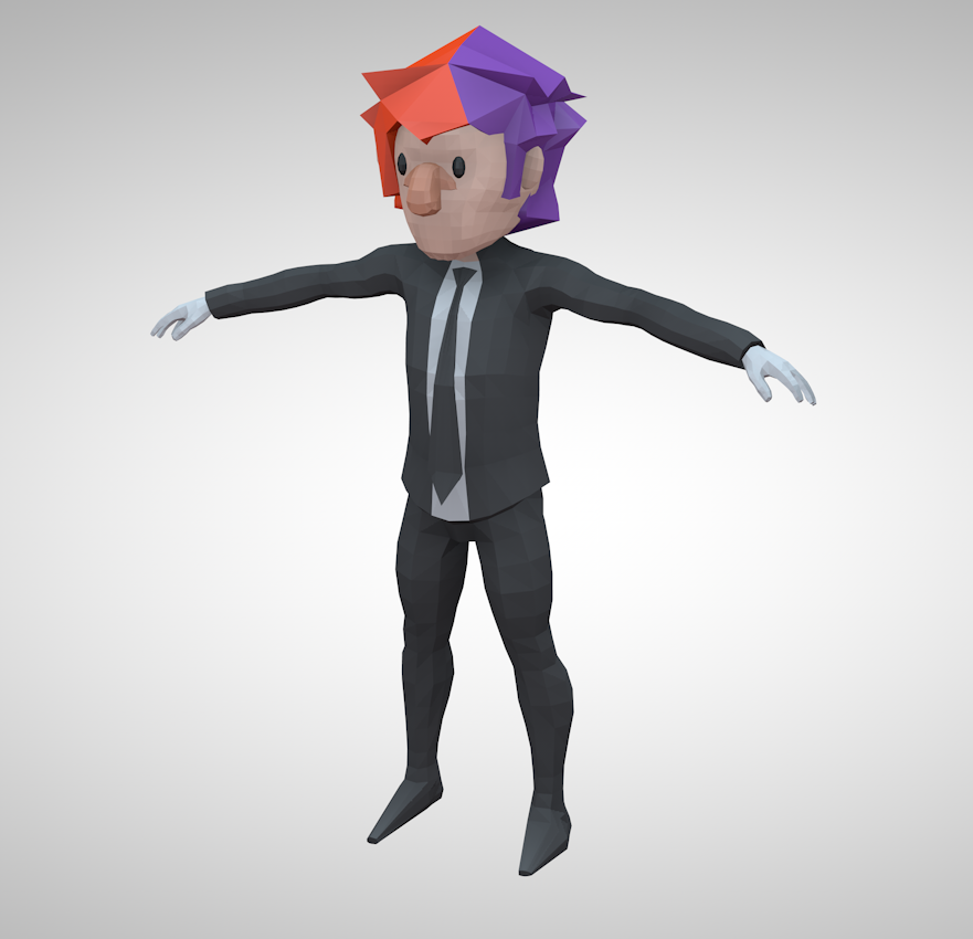 Low-Poly Rig