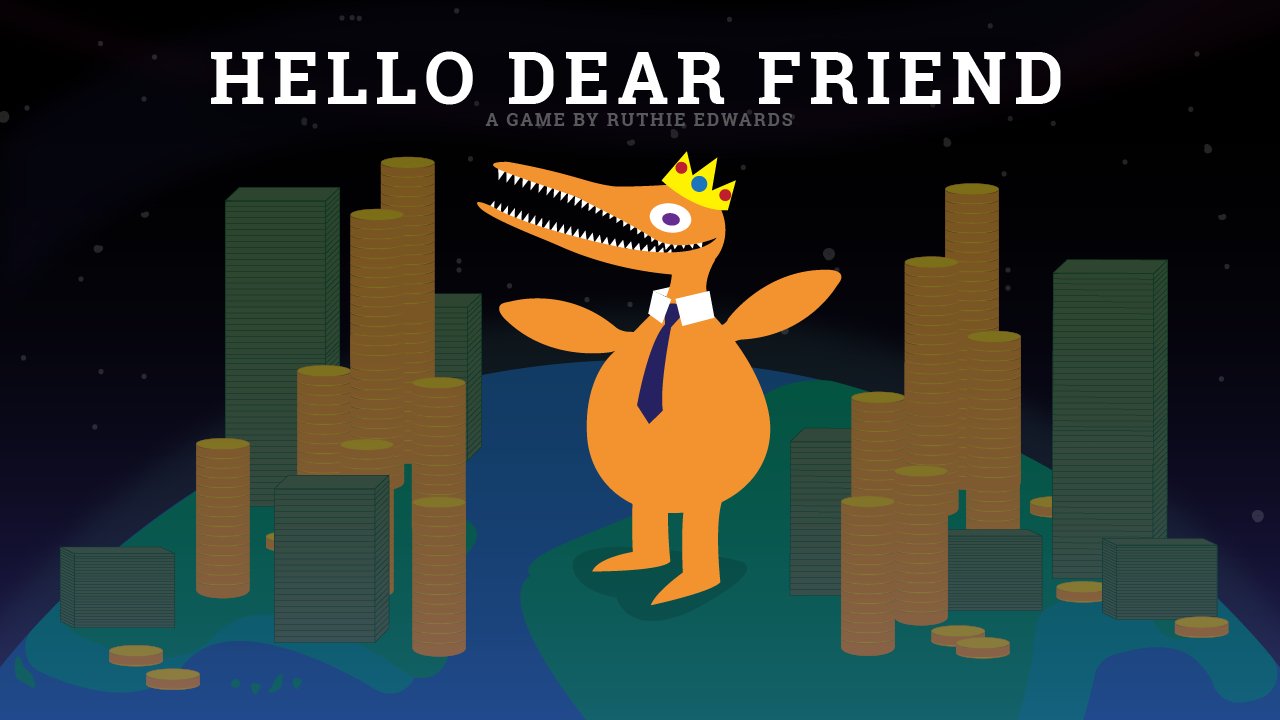 Hello Dear Friend Clicker Game