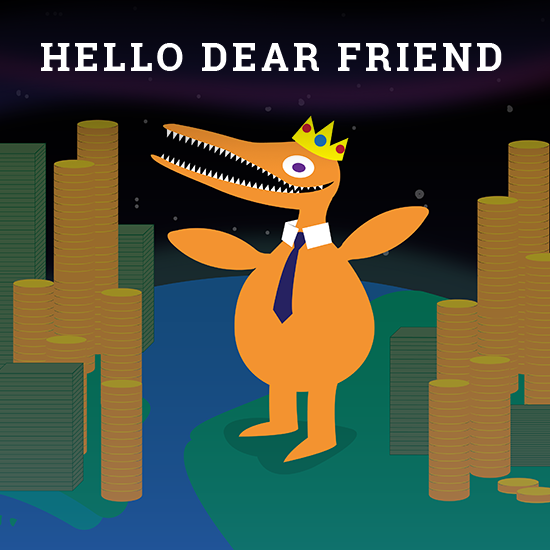 Hello Dear Friend – A Clicker Game