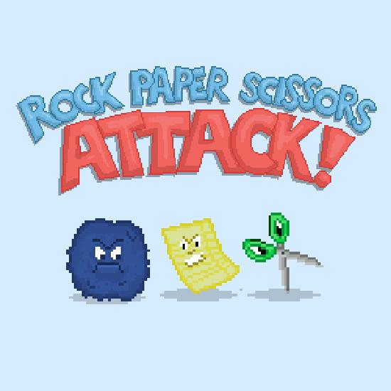Rock Paper Scissors ATTACK! (Solo Game)