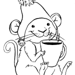 Cocoa Mouse Drawing