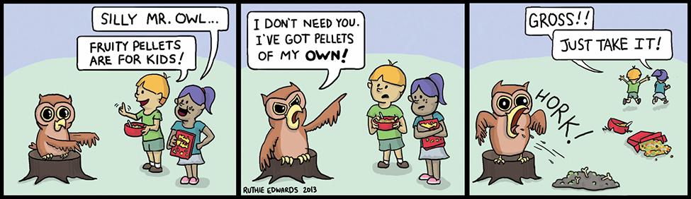 Silly Mr. Owl
